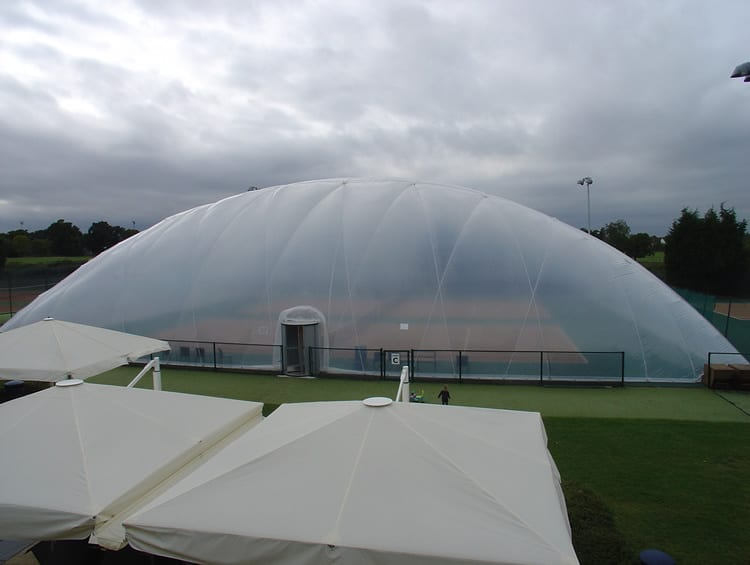 raynes park single polyethylene skin dome