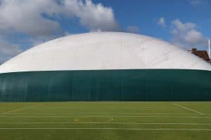 pvc gallery air dome 2