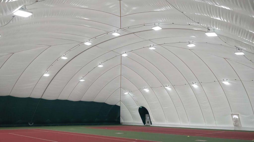 pvc tennis air dome