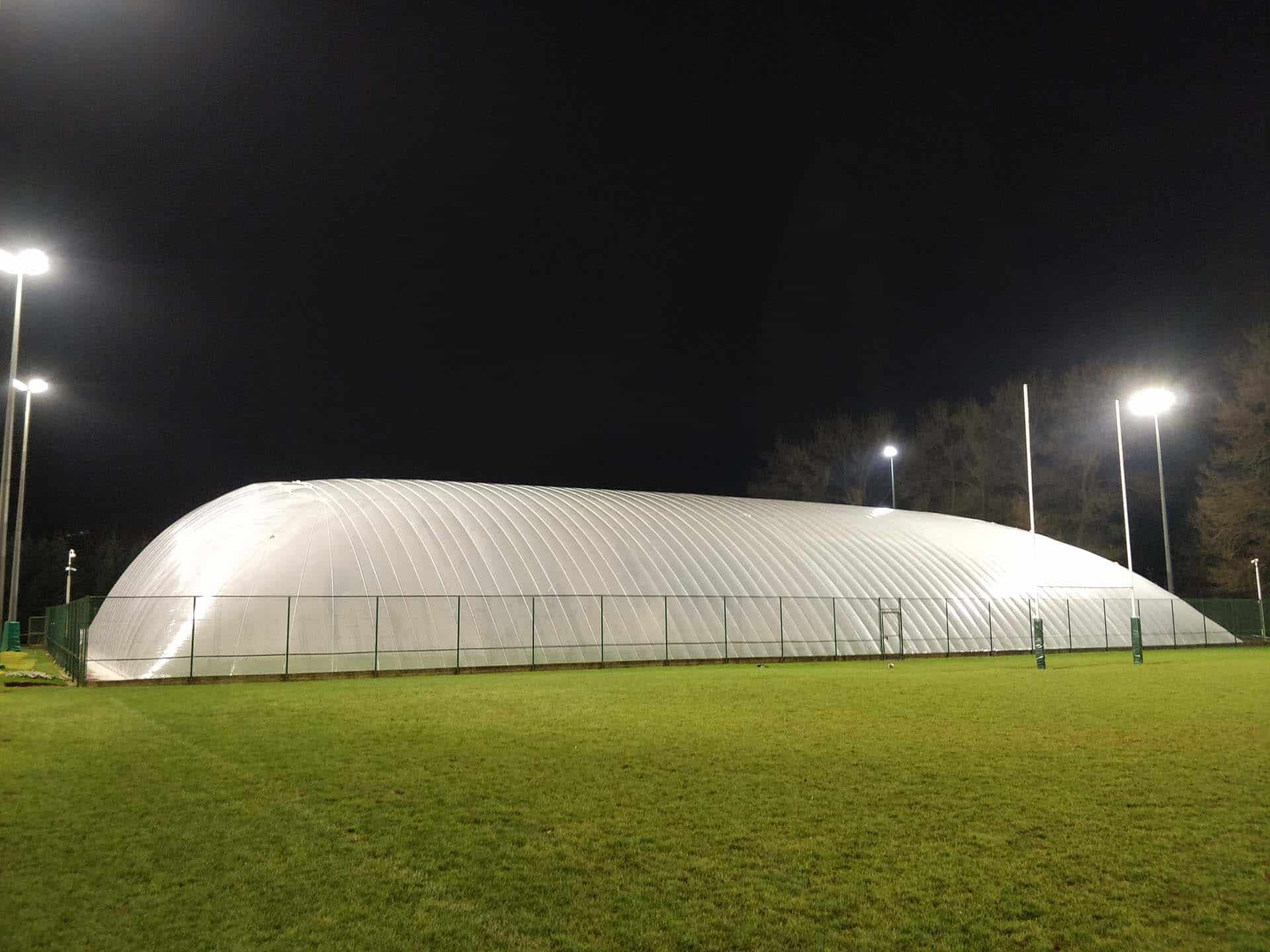 leicester tigers air dome