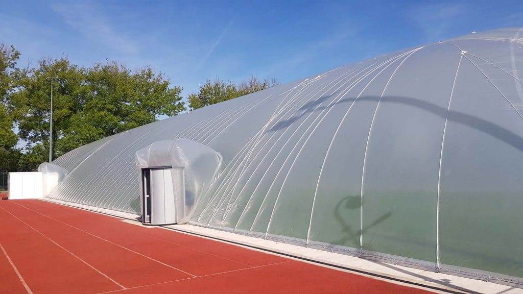 leicester tigers rugby air dome