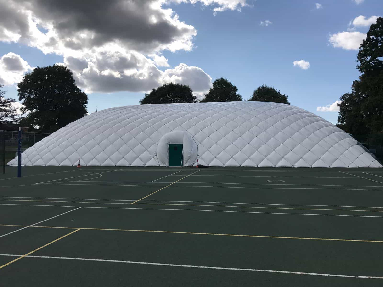 tennis dome building
